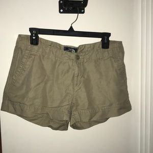 Women's North Face Tan Shorts